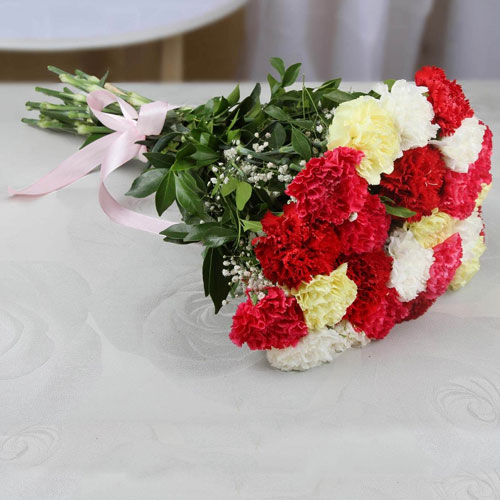Bunch-of-25-Mixed-Carnations